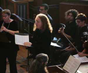 Baroquelyn Concert Debuts To a Packed Upper Hall