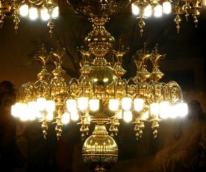 The Mystery and Wonder of our Old First Chandelier