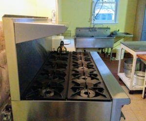 Hot News! A New Stove at Old First
